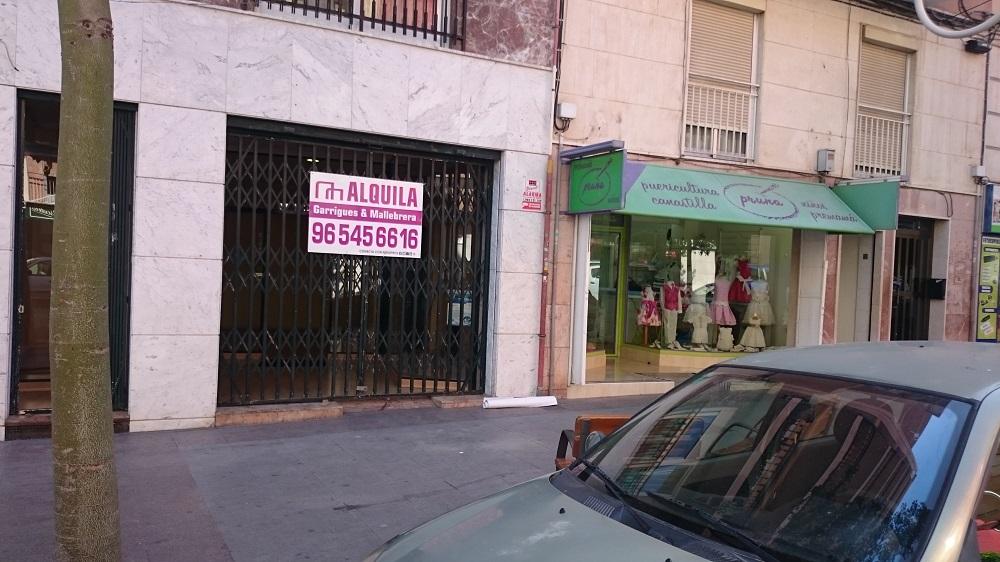 Local comercial de alquiler en Elche