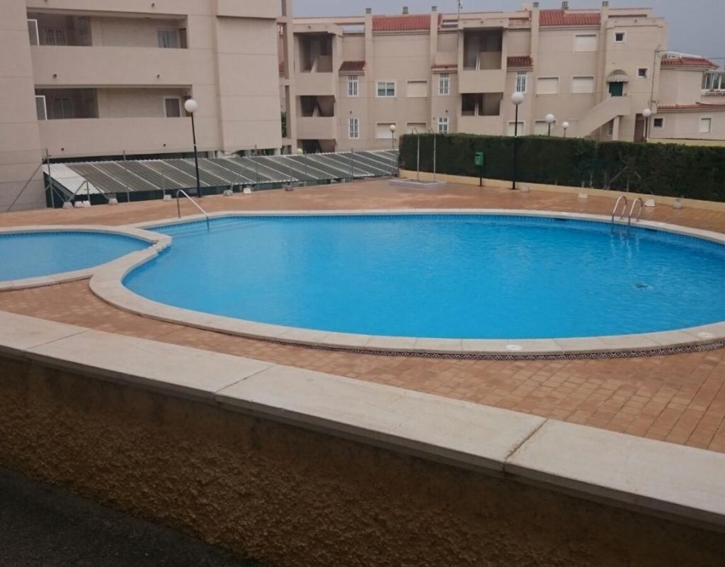 piso en venta en santa pola del este planta baja piscina